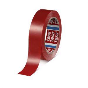 4154 tesa MASKIRNI TRAK rdeč,  66m:50mm