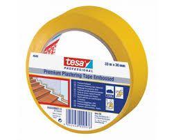 4840 tesa ZAŠČITNI TRAK  PVC rumen, UV odporen 33m:50mm